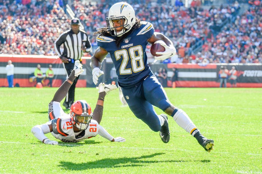 Charger running back Melvin Gordon