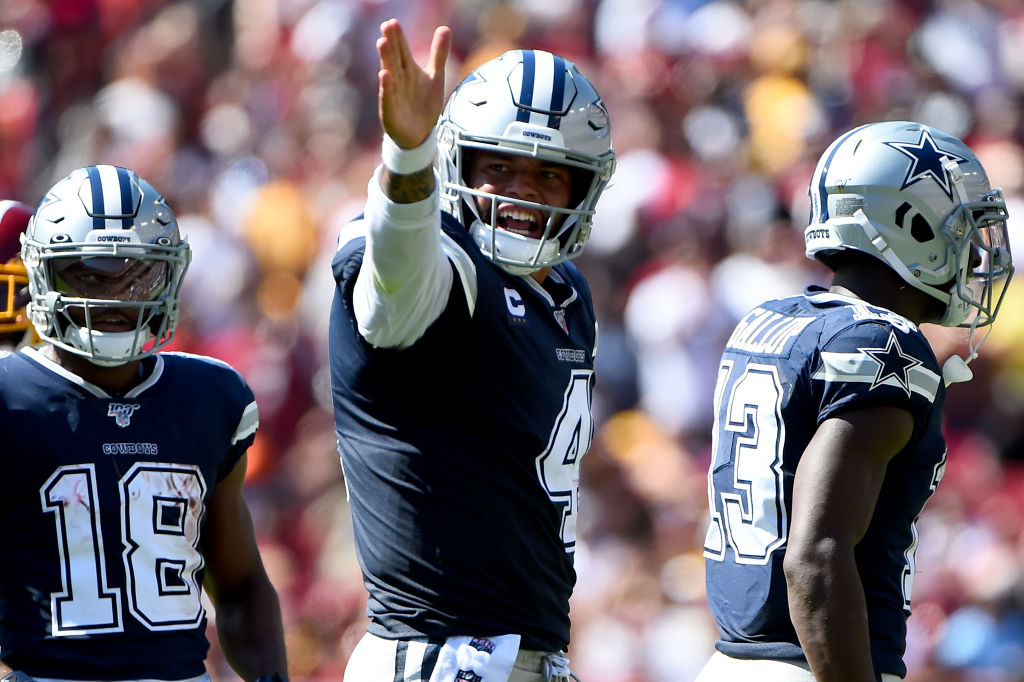 NFL Recap: Ezekiel Elliott, Dak Prescott Lift Cowboys Over Redskins, 31 – 21