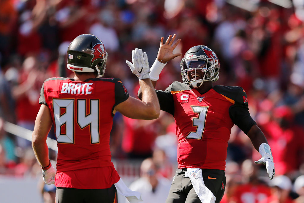 Jameis Winston and the Buccaneers' defense powered a win over the Los Angeles Rams on Sept. 29, 2019.