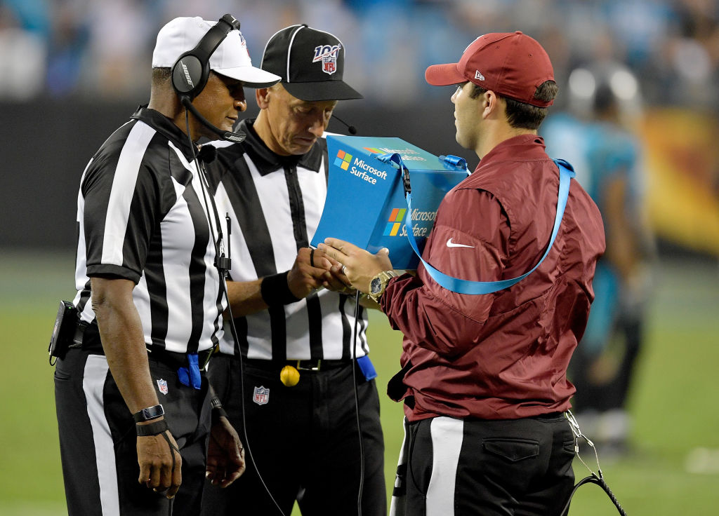 NFL Referees implementing rule changes