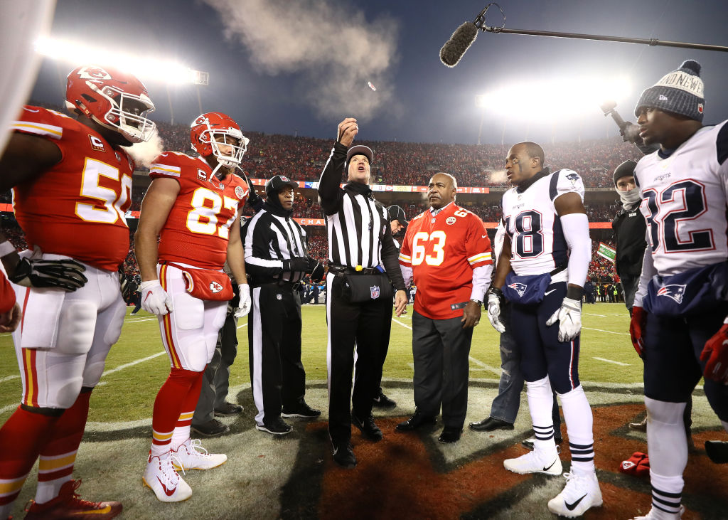 NFL coin toss strange rule