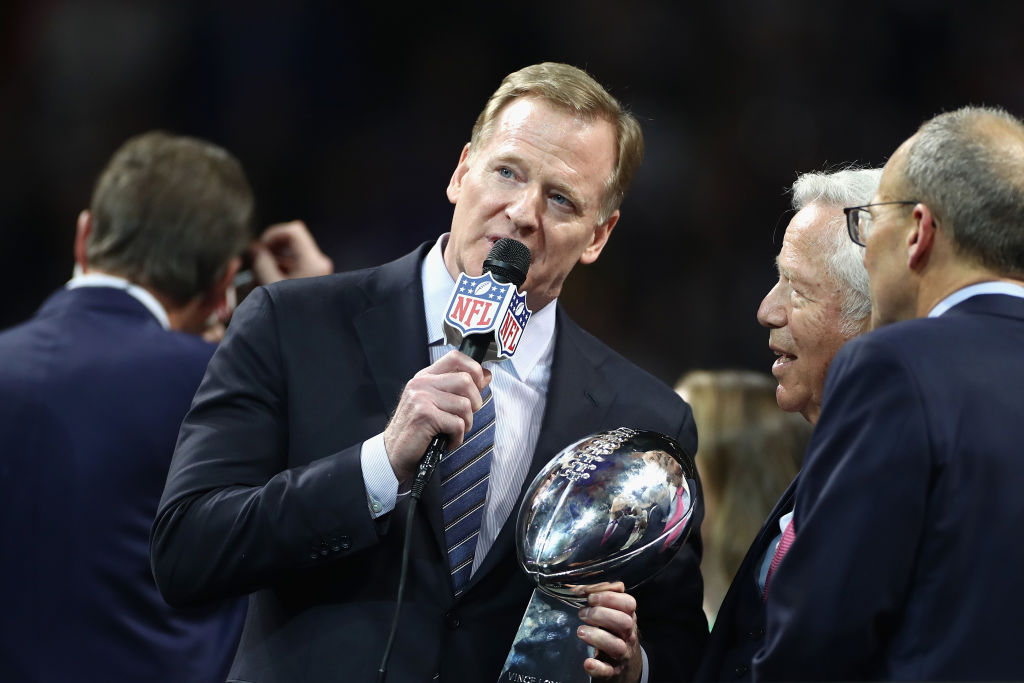 Despite what some might say, Roger Goodell and the NFL are not in trouble financially.