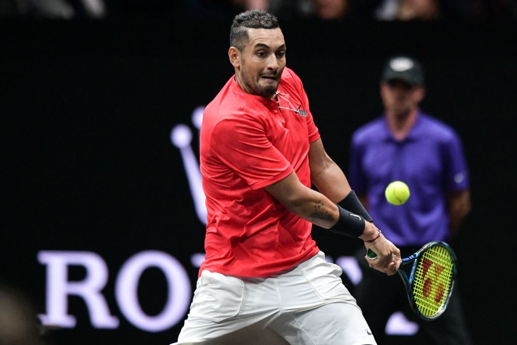 Nick Kyrgios and his bad behavior irk at least one former tennis great.
