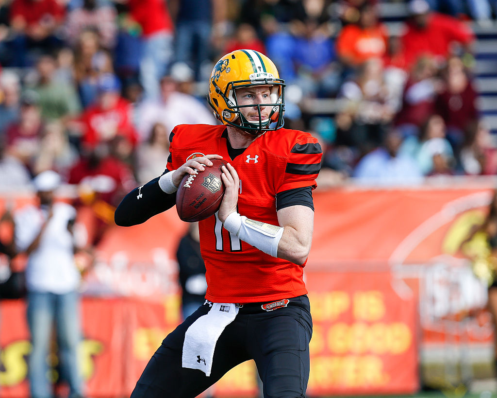 North Dakota State Quarterback Carson Wentz