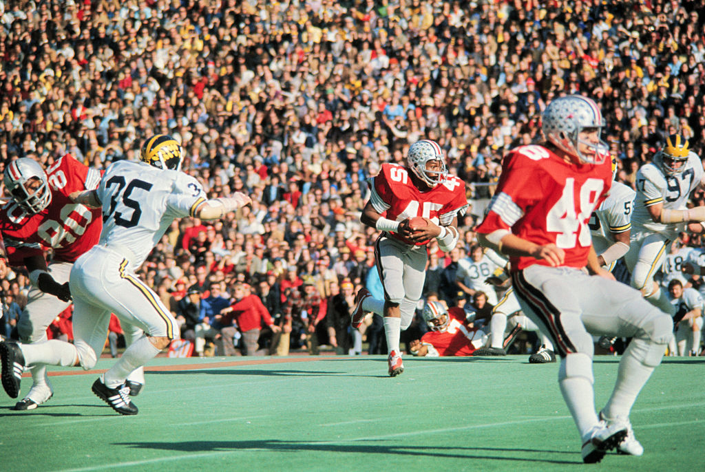 Ohio State's tailback Archie Griffin