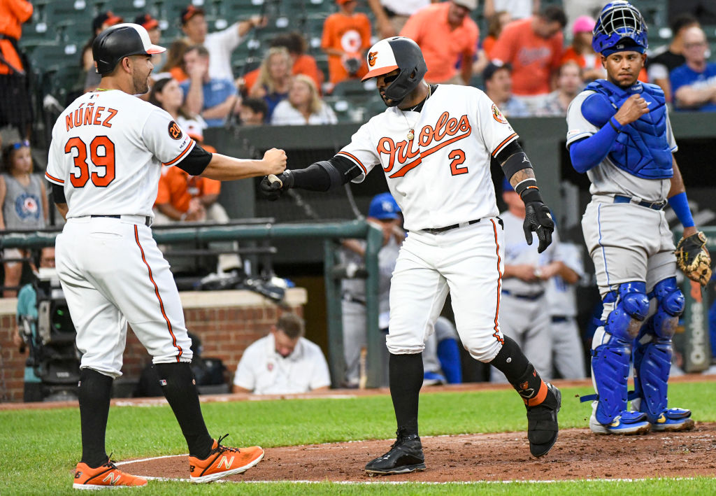 A Jonathan Villar (middle) home run helped the Orioles do something positively notable during the 2019 baseball season.