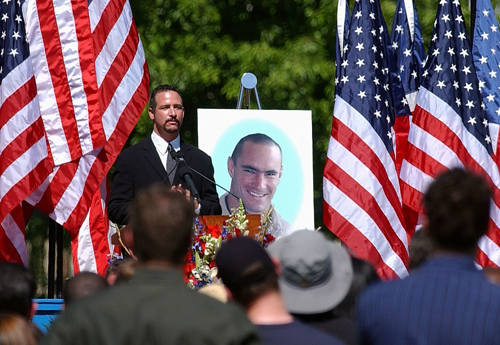 Public Memorial Service For Cpl. Pat Tillman