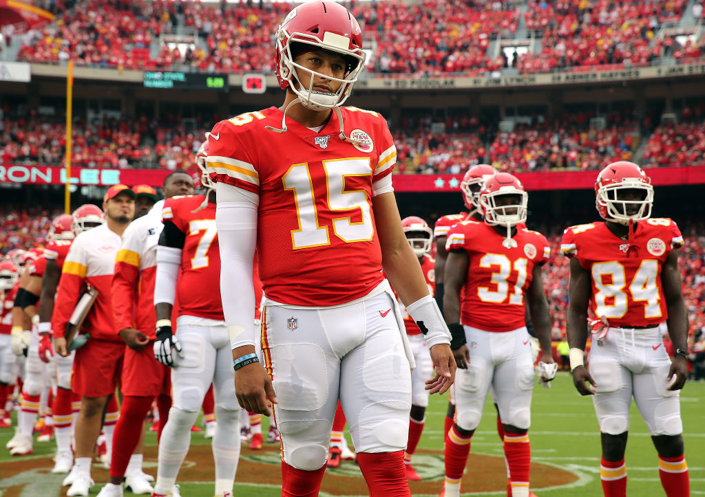 When in doubt, it's hard to go wrong with Patrick Mahomes and the Chiefs