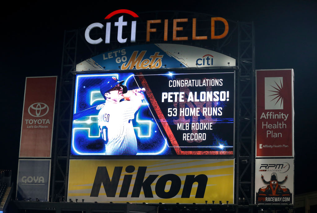 Pete Alonso is setting records, but his salary won't change much