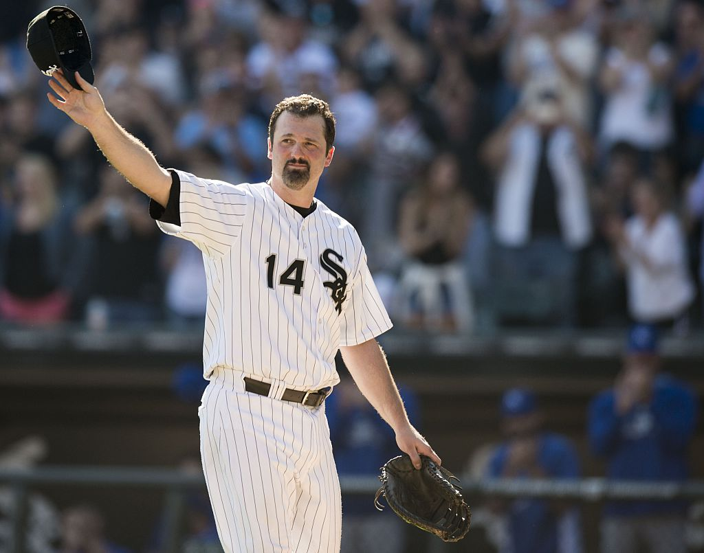 Retired White Sox player Paul Konerko is someone Mets star Pete Alonso hopes to emulate.