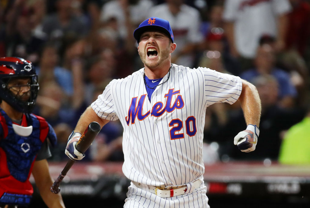 Mets' player Pete Alonso
