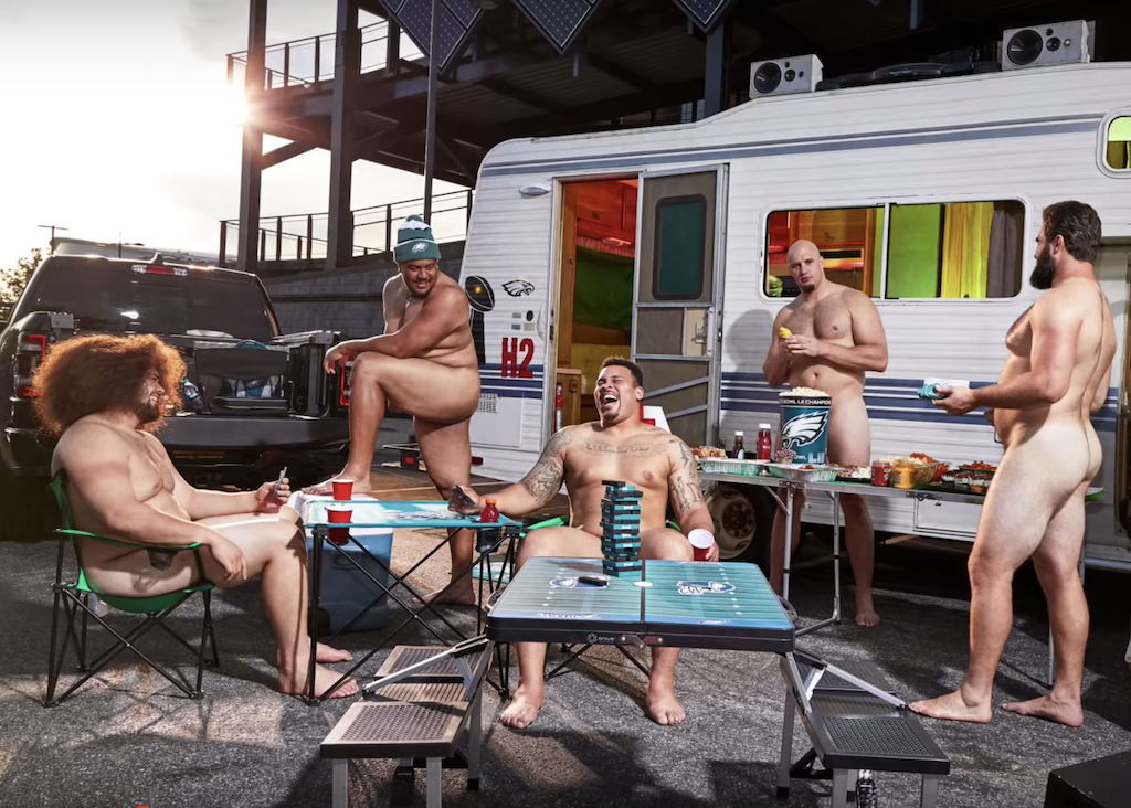 ESPN Body Issue - Philadelphia Eagles