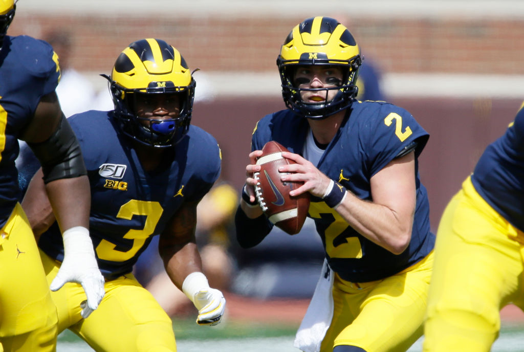 pretty nice ee0d8 12fb4 Michigan Football: The Wolverines Should Be Very, Very Concerned