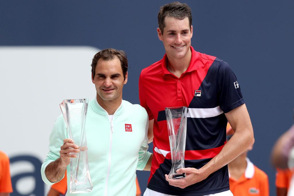Tallest tennis player John Isner