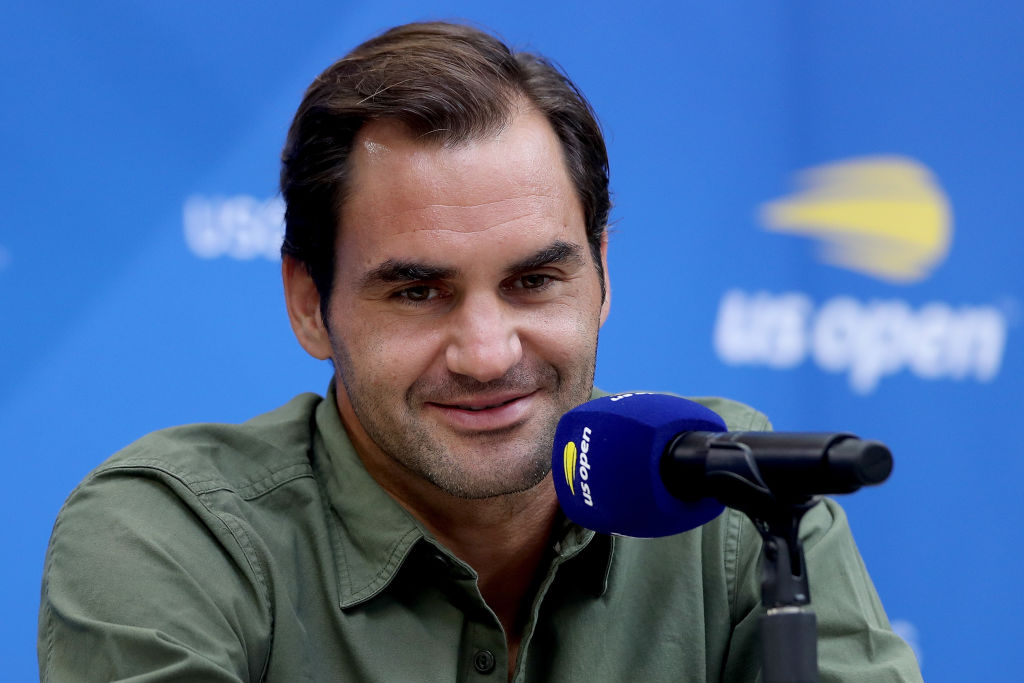 2019 US Open - Media Day - Roger Federer
