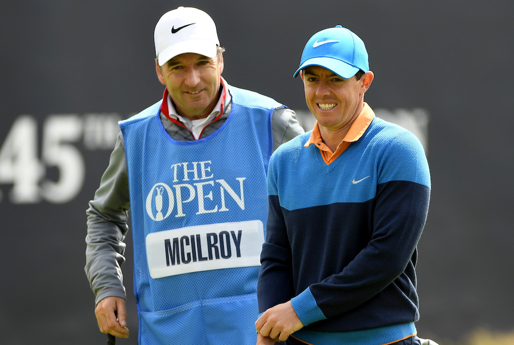 145th Open Championship - Rory McIlroy and JP Fitzgerald