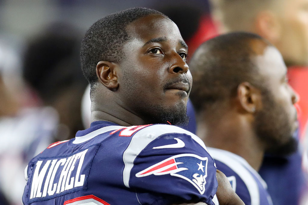 Sony Michel might be the secret weapon for the Patriots' high-powered offense.