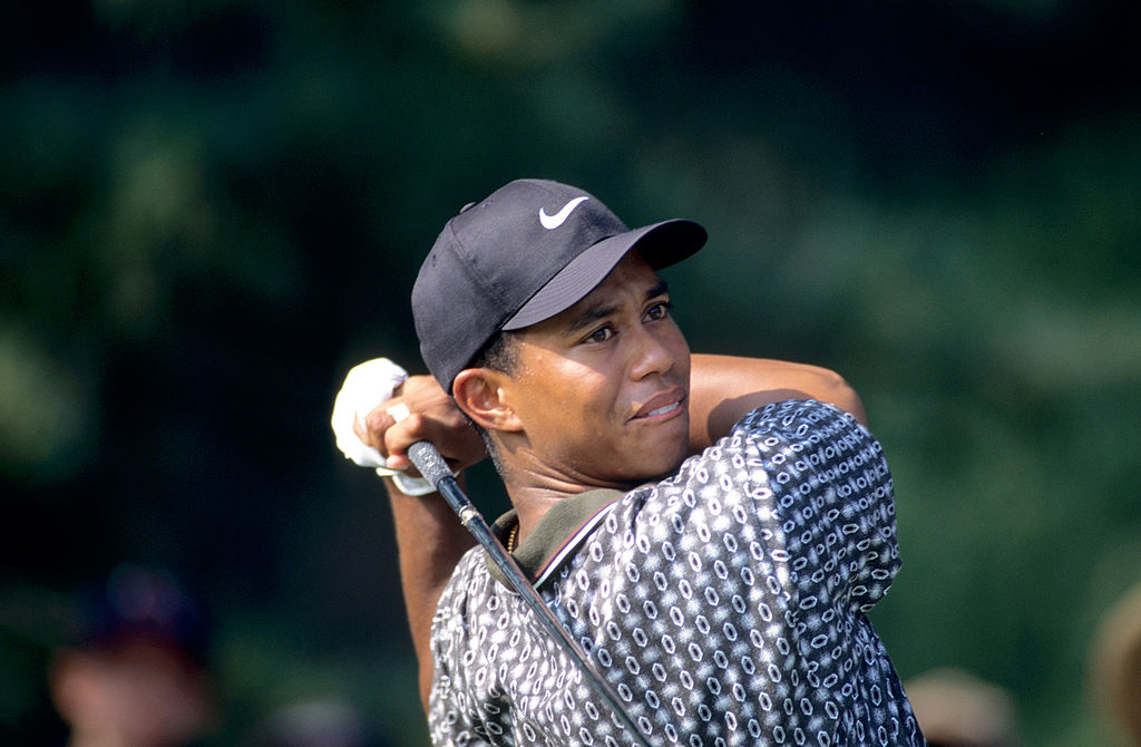 Workout of Tiger Woods from his prime