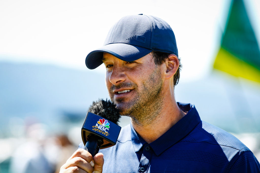 Tony Romo speaks on TV