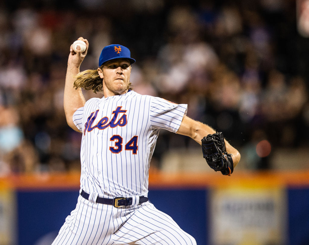 The Mets trading Noah Syndergaard would definitely spice up the MLB offseason.