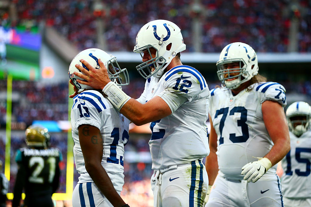 Indianapolis Colts Ty Hilton Andrew Luck