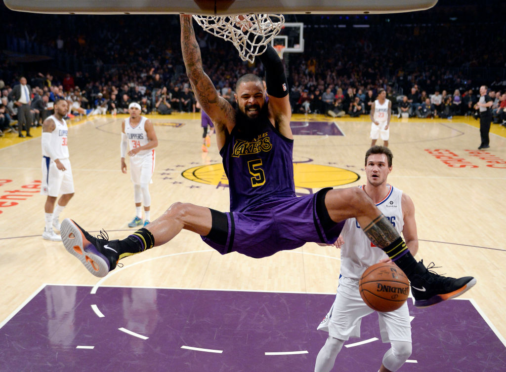 Los Angeles Lakers Tyson Chandler