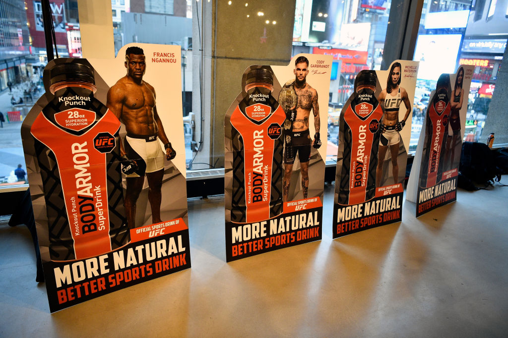 UFC BodyArmor Partnership Unveil