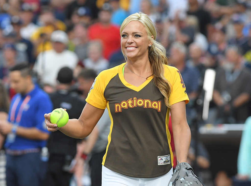 U.S. Olympic softball player Jennie Finch