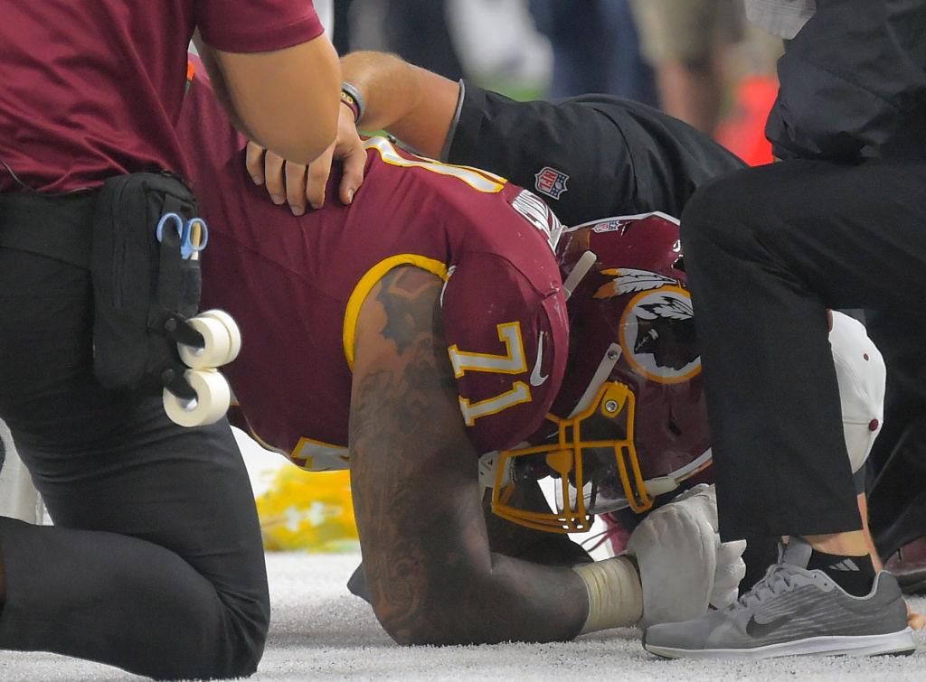 Injury history of the Washington Redskins
