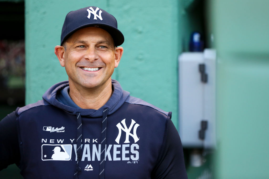 Yankees manager Aaron Boone could set a new record in 2019.
