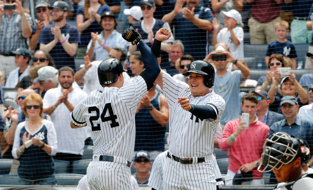 To say that Gary Sanchez (left), Gio Urshela, and the Yankees dominated the Baltimore Orioles in AL East play in 2019 is an understatement.