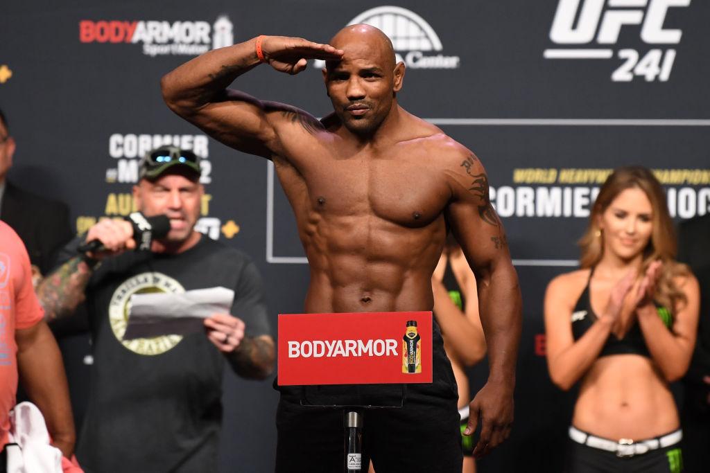 UFC 241: Yoel Romero of Cuba