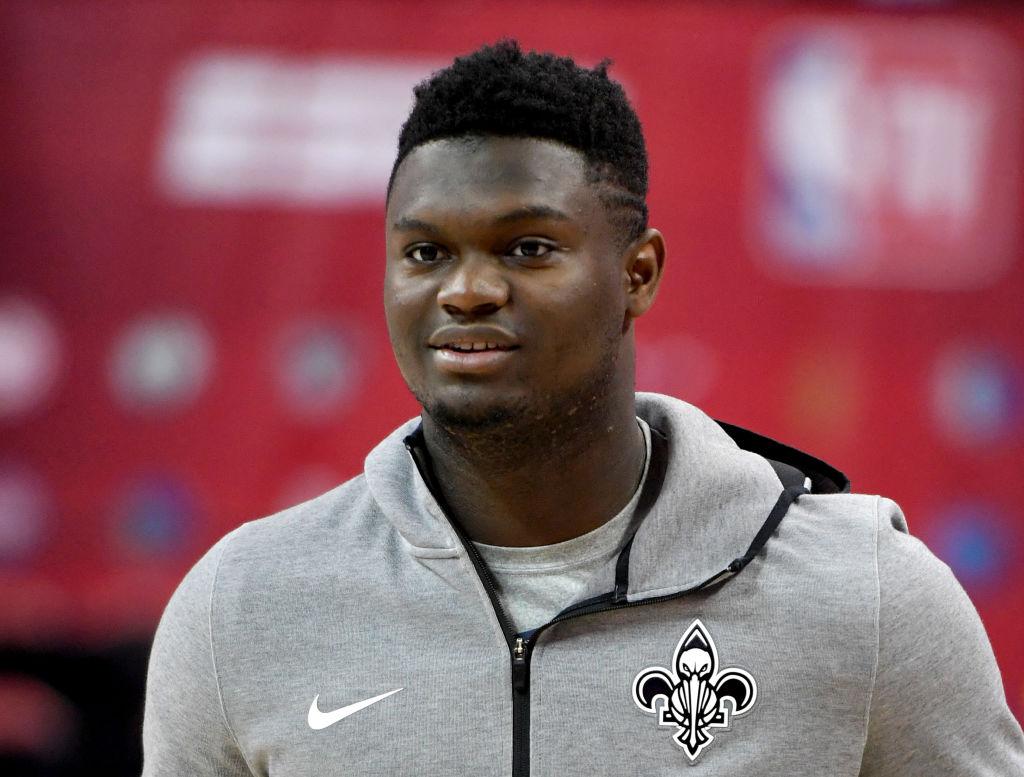 New Orleans Pelicans Zion Williamson