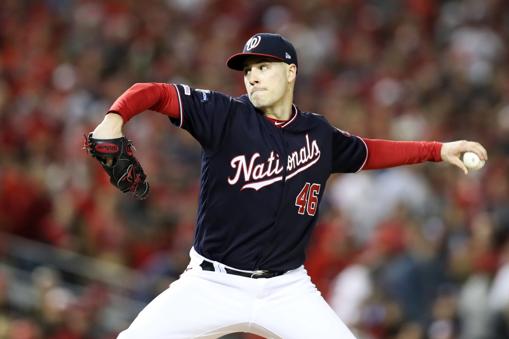 Patrick Corbin and other starting pitchers have seen a lot more action in the 2019 MLB postseason, which is different from years past.