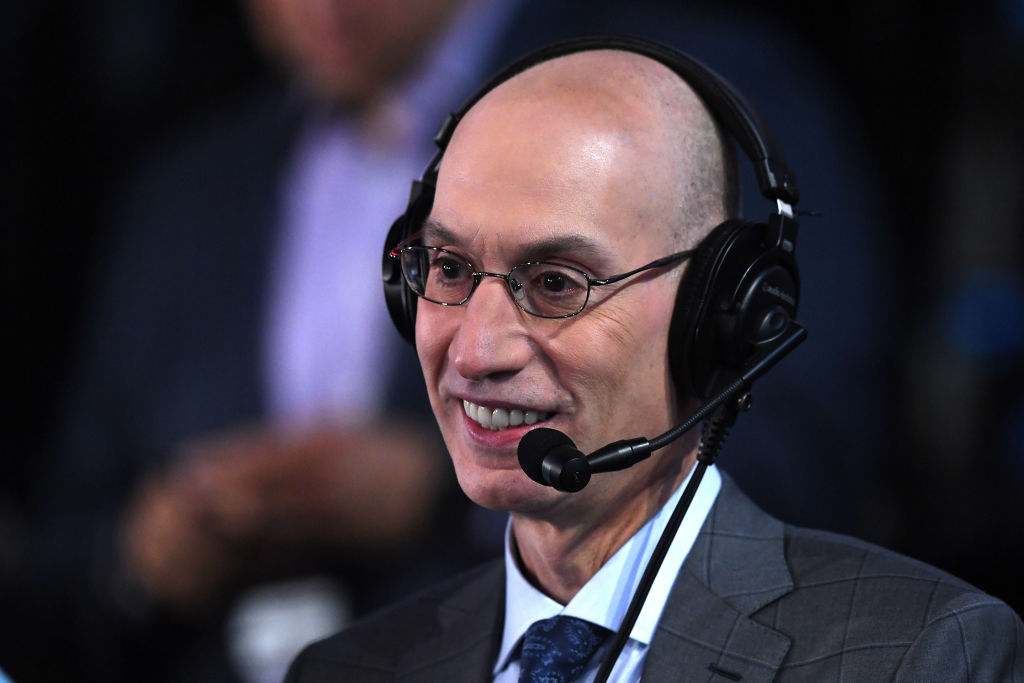 NBA Commissioner Adam Silver stands with Daryl Morey, for now