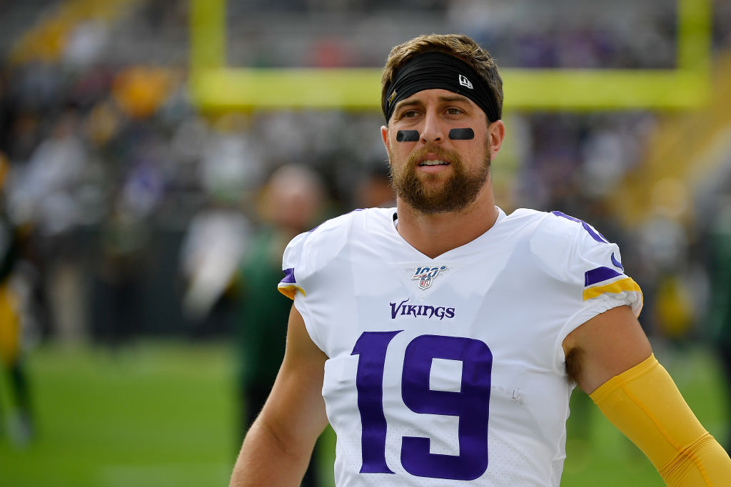 Vikings wide receiver Adam Thielen