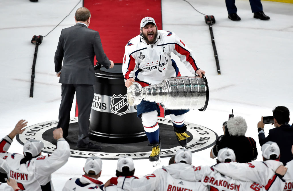 Alex Ovechkin, Nicklas Backstrom, Braden Holtby, and John Carlson are the Washington Capitals Stanley Cup core.