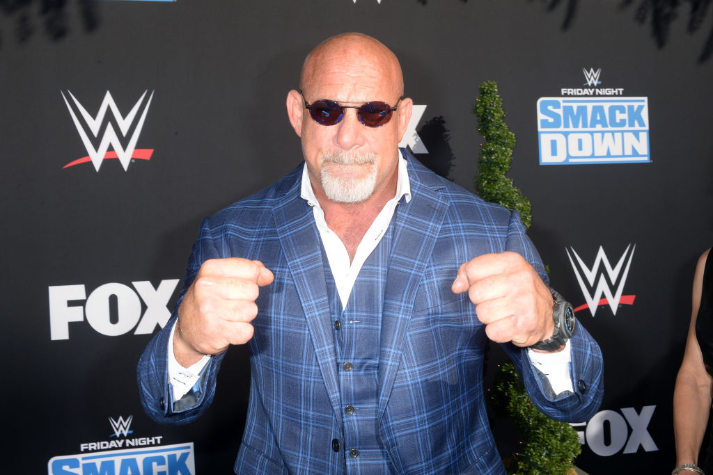 Bill Goldberg is one of several NFL players who transitioned to pro wrestling in the WWE.
