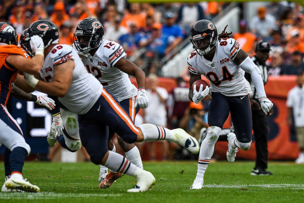 The Bears' Cordarrelle Patterson has one of the fastest runs of the 2019 NFL season.