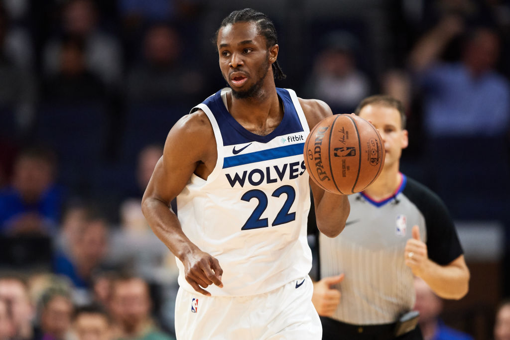 Timberwolves forward Andrew Wiggins
