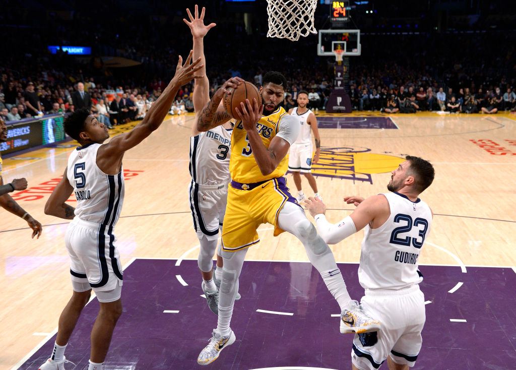 Anthony Davis Needed Just 4 Games to Have 1 of the Best Performances in Lakers' History