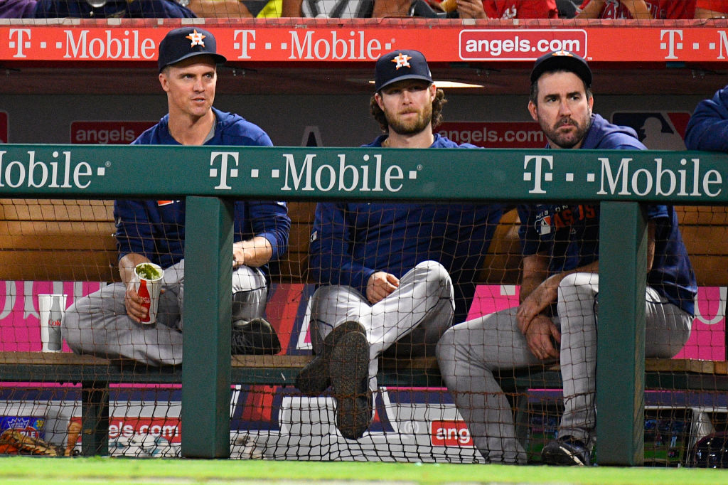 Dominant pitching, led by Zack Greinke (from left), Gerrit Cole, and Justin Verlander, give the Houston Astros the inside track to winning the 2019 World Series.