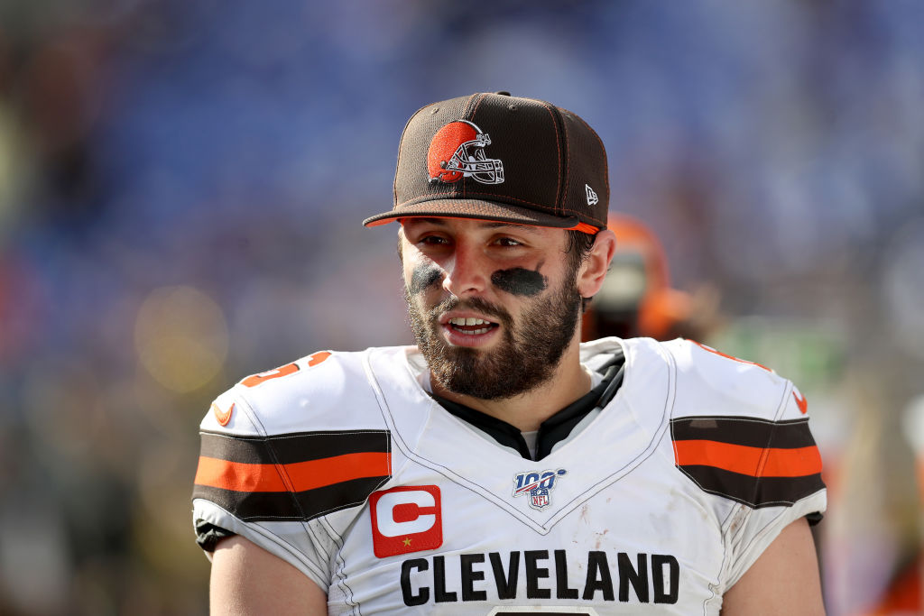 Browns quarterback Baker Mayfield