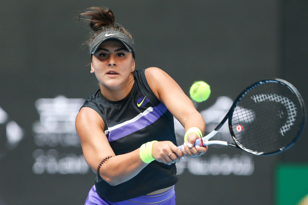 After winning the US Open Women's Singles championship, Bianca Andreescu is competing in the China Open.