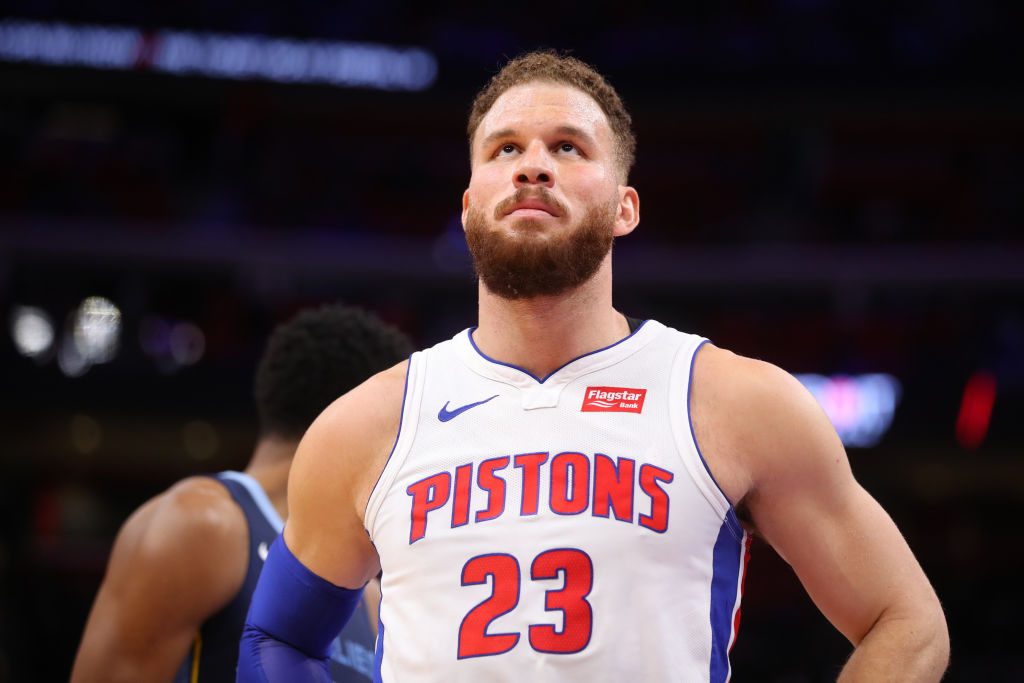 Pistons forward Blake Griffin