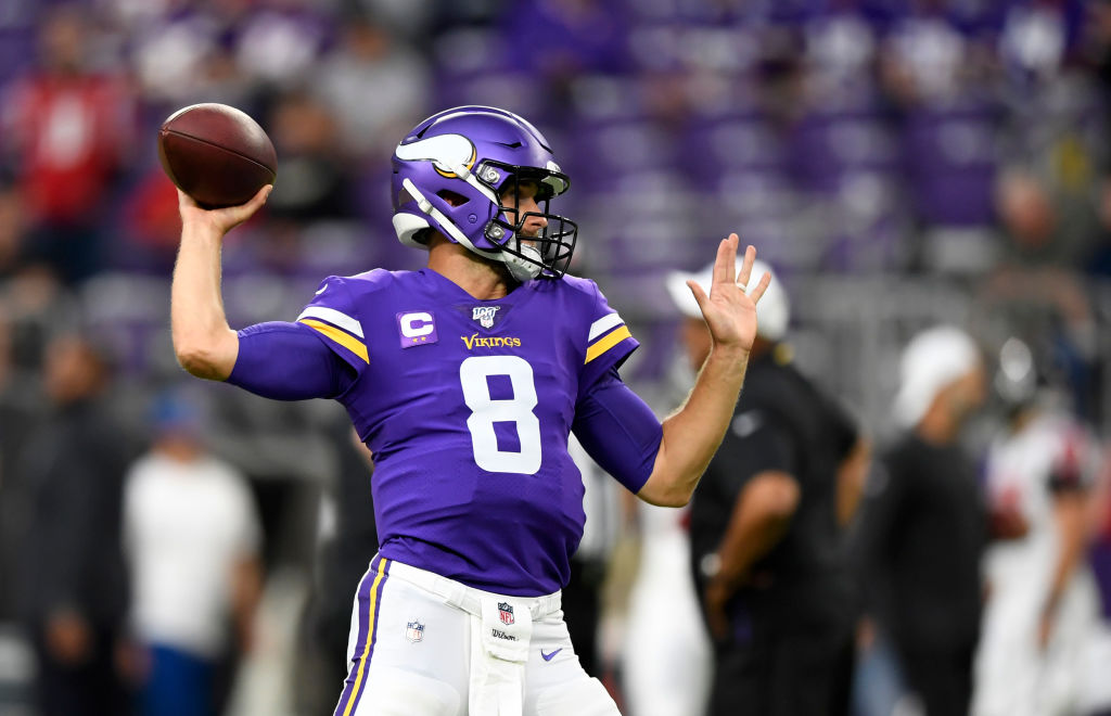 Vikings quarterback Kirk Cousins takes a lot of heat for the team's passing game struggles, but is he really to blame?