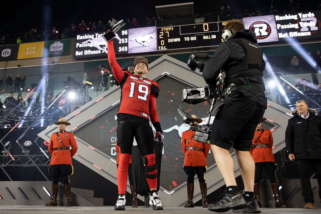 CFL quarterback Bo Levi Mitchell has worked out for several NFL teams, including the Vikings, but he's never earned a contract.