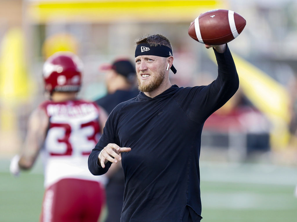CFL quarterback Bo Levi Mitchell has worked out for several NFL teams, but he's never earned a contract.