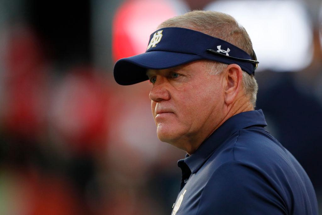 Brian Kelly has had a strong tenure as Notre Dame's head coach