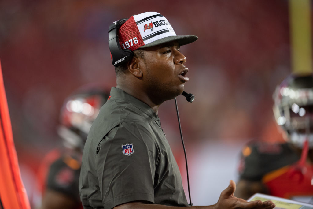 Former NFL player and now coach on the Buccaneers Byron Leftwich